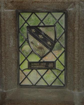 Stubley Hall inside window